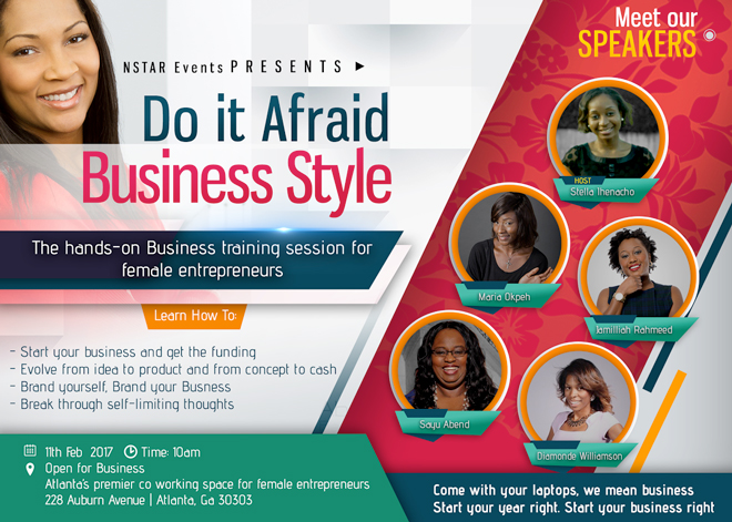 Do It Afraid Business Style